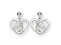 Disney Aurora Heart Dangle Post Earrings