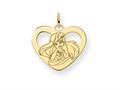 Disney Ariel Heart Charm