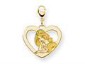 Disney Jasmine Heart Lobster Clasp Charm