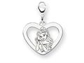 Disney Belle Heart Lobster Clasp Charm