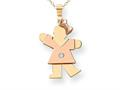 The Kids® kid Charm / Pendant Necklace 18 inch Chain Included