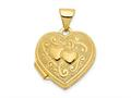 Finejewelers 14k Heart Locket Pendant Necklace 18 inch chain included