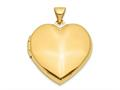 Finejewelers 14k Plain Heart Family Locket Pendant Necklace 18 inch chain included