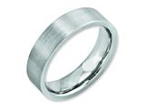 Chisel Cobalt Flat Satin 6mm Weeding Band style: CC17