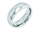 Chisel Cobalt Polished 7mm Weeding Band style: CC27