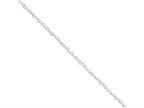 Sterling Silver 3.5mm Fancy Heart Link Necklace Style number: QFC81
