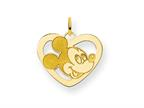 Disney Mickey Heart Charm Style number: WD101GP