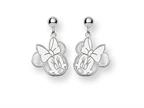 Disney Minnie Dangle Post Earrings Style number: WD130SS