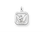 Disney Tinker Bell Square Charm Style number: WD274SS