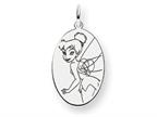 Disney Tinker Bell Oval Charm Style number: WD286SS