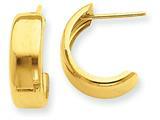 Finejewelers 14k Yellow Gold Hoop Earrings style: E683