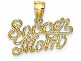 Finejewelers 14k Yellow Gold Soccer Mom Charm style: K3582