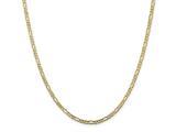 Finejewelers 10k 3.0mm Figaro Chain Bracelet style: LES82088