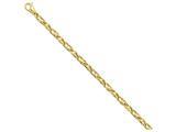 8 Inch 14k 5.25mm Fancy Link Chain Bracelet style: LK3168