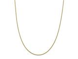 24 Inch 14k Yellow Gold .75mm Solid Polished Cable Chain Necklace style: PEN32824