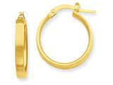14k Hoop Earrings style: PRE552
