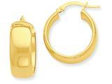 14k Hoop Earrings style: PRE686