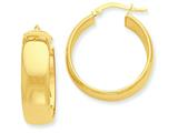 14k Hoop Earrings style: PRE687