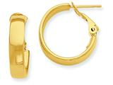 14k Hoop Earrings style: PRE732