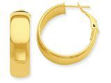 14k Hoop Earrings style: PRE735