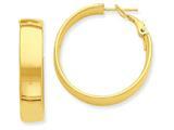 14k Hoop Earrings style: PRE738