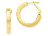 14k Hoop Earrings style: PRE740