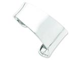 Sterling Silver Cuff Bangle style: QB547