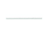 16 Inch Sterling Silver 1.8mm bright-cut Box Chain Necklace style: QBR040