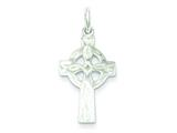 Sterling Silver Celtic Cross Charm style: QC1900