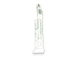 Sterling Silver Sears Tower Building Charm style: QC5054