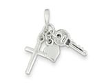 Sterling Silver Charm style: QC6205