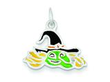 Sterling Silver Witch Charm style: QC7576