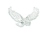 Sterling Silver Eagle Pendant Necklace - Chain Included style: QC861
