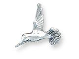 Sterling Silver Hummingbird Charm style: QC888