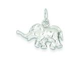 Sterling Silver Elephant Charm style: QC907