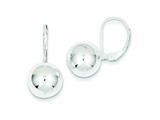 Sterling Silver Dangle Ball Earrings style: QE147