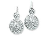 Sterling Silver Cubic Zirconia Earrings style: QE3127