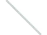 Sterling Silver Polished 4.6mm Curb Chain Necklace style: QFC147