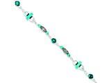 Sterling Silver Turquoise Anklet Bracelet style: QG1393
