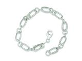 Sterling Silver Fancy Bracelet style: QG150