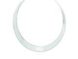 Finejewelers Sterling Silver Neck Bangle style: QG2561