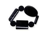 Black Agate Stretch Bracelet style: QH4522