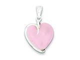 Sterling Silver Rose Quartz Pendant Necklace - Chain Included style: QP260