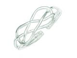 Finejewelers Sterling Silver Infinity Solid Toe Ring style: QR799