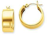 Finejewelers 14k Yellow Gold Hoop Earrings style: S1161