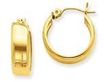 14k Hoop Earrings style: S1163