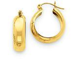 14k Hoop Earrings style: S1167