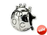 Reflections™ Sterling Silver Ladybug Bead / Charm style: QRS1194