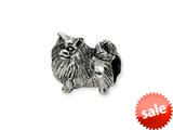 Reflections™ Sterling Silver Pomeranian Bead / Charm style: QRS1271