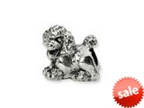 Reflections™ Sterling Silver Poodle Bead / Charm style: QRS1278